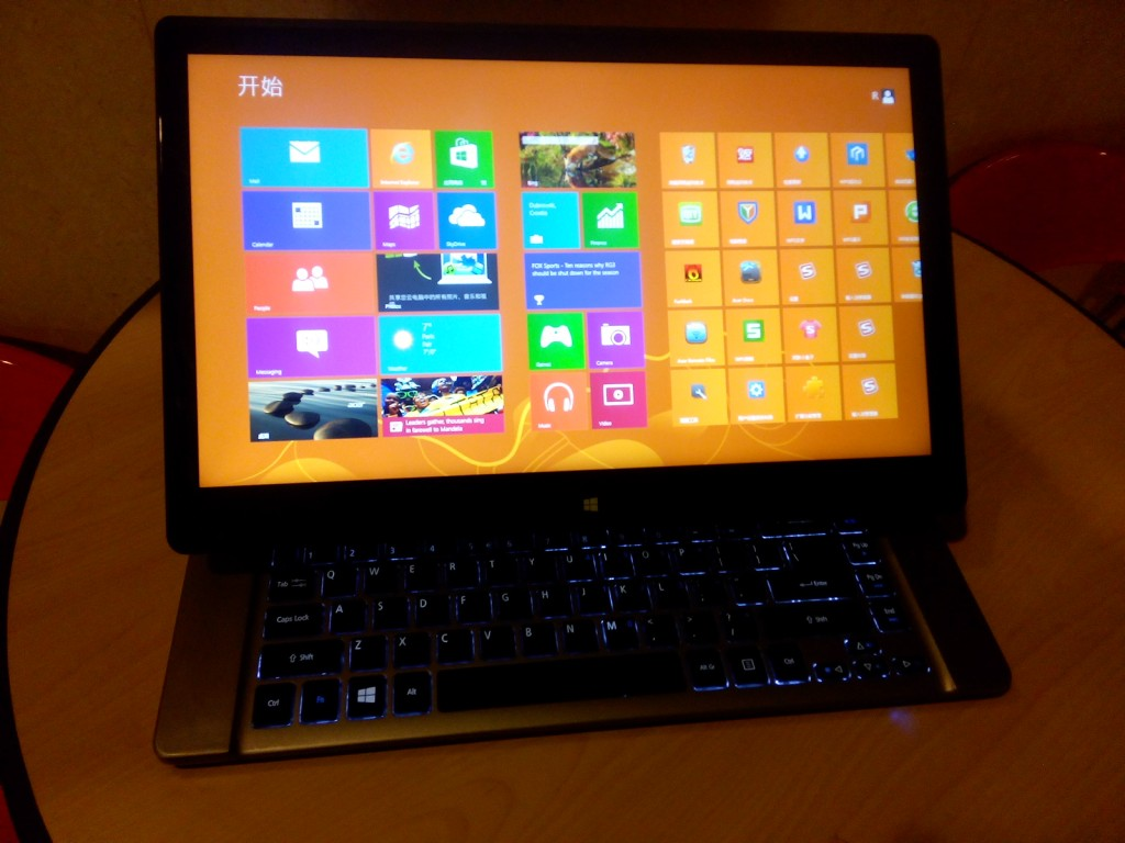 aspire r7 windows 8